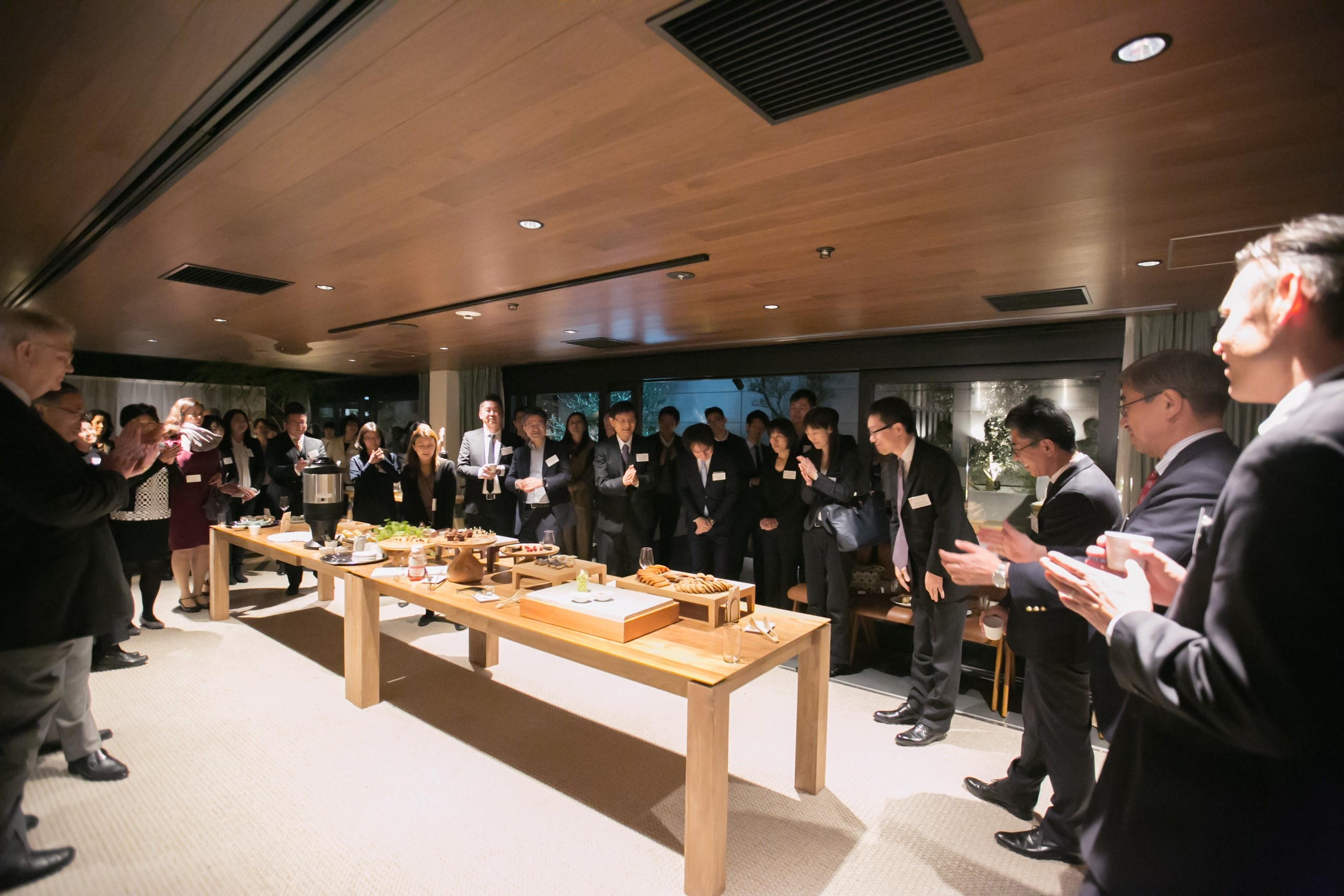 Chs tokyo hosts autumn terrace party cornell hotel society for Terrace party