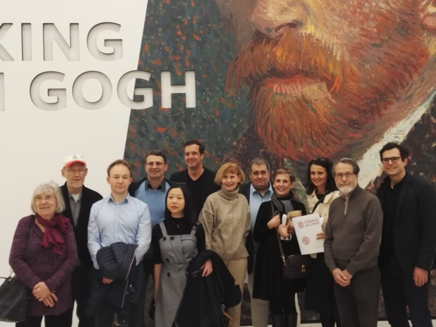 Hotelies Join Other Ivy Leaguers At Van Gogh Exhibit